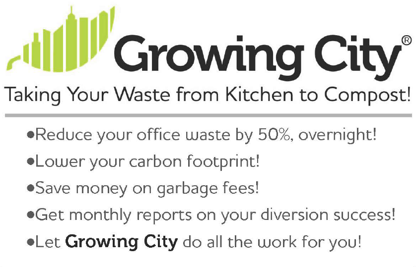 Corporate Composting - growing city