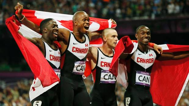 canada men's relay