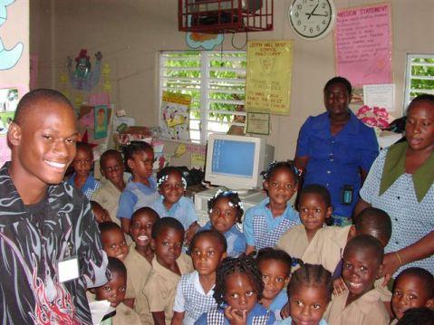 Jamaica classroom