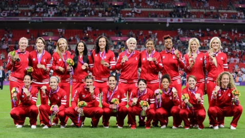 Canada Bronze Medal Soccer