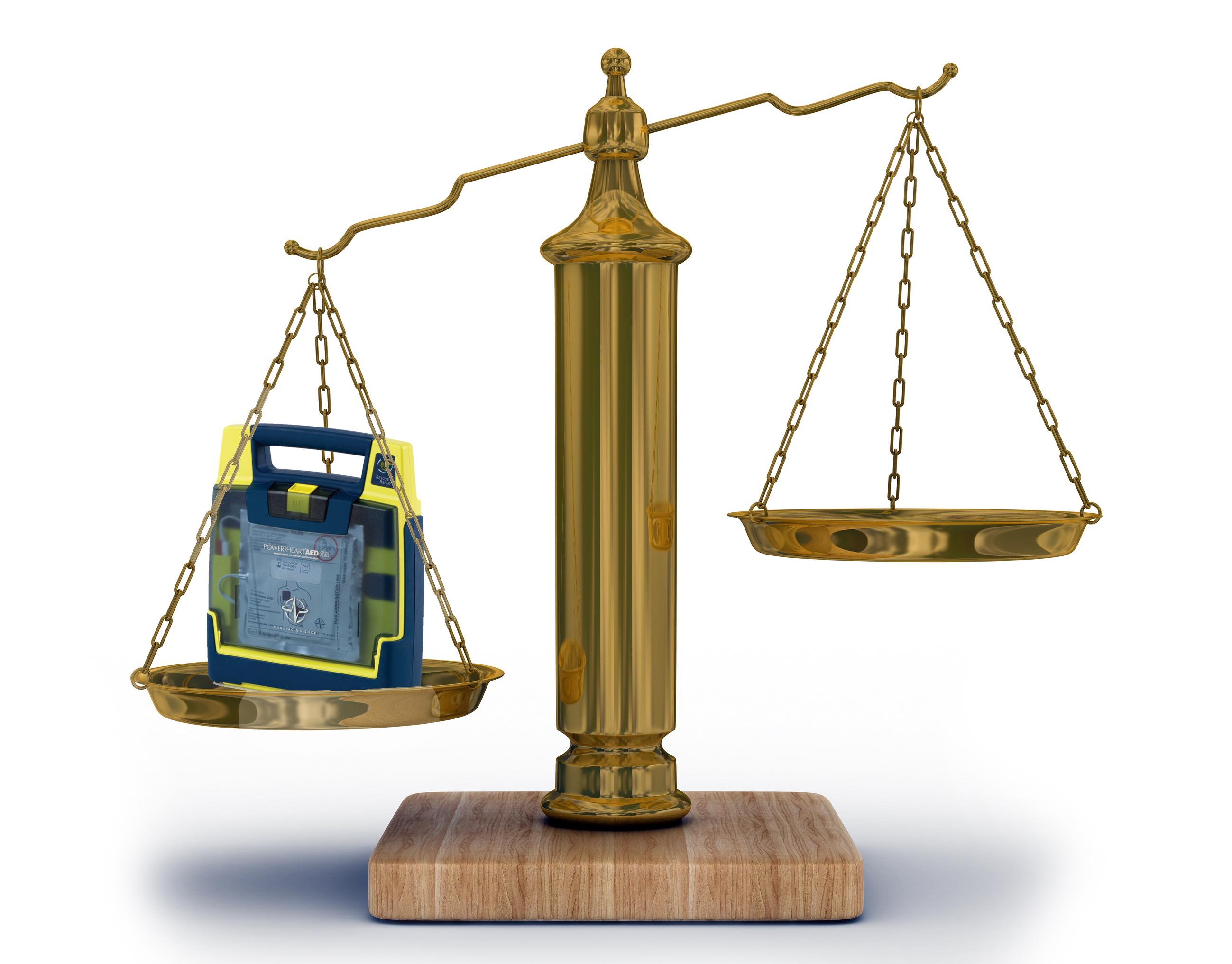 Defibrillator Liability