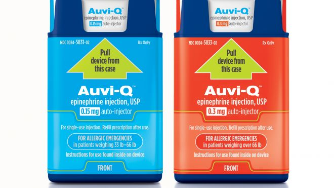 Auvi Q auto injector - Allergic Treatment
