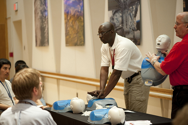 CPR Training at NASA